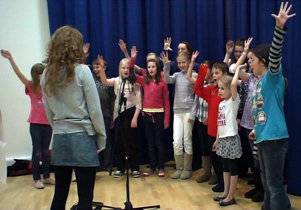 North east Youth Choir performing All Things