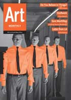Art Monthly, Things article, Paul O'Kane