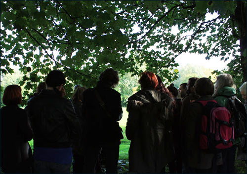 Andrew Dodds, walking tour of clandestine sites, Irk Valley